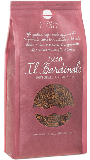 Original Whole Grain Rice, Il Cardinale - Riso Acqua e Sole