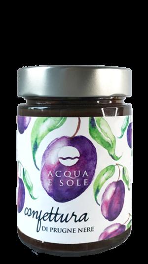 Black plum jam