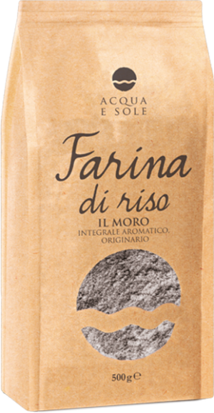 Whole Original Aromatic Il Moro Rice Flour